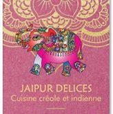 Création de carte de visite jaipur delices recto